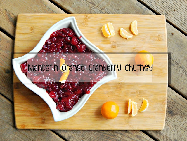 Mandarin Orange Cranberry Chutney