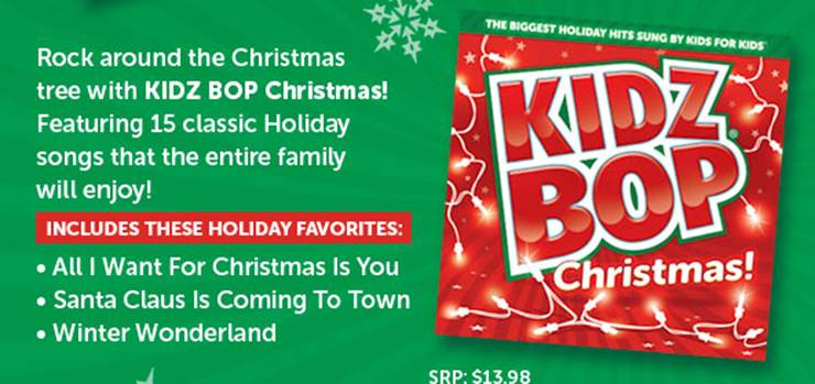 Dad of Divas' Reviews: Kidz Bop Shares Some Great Holiday Gift Ideas!