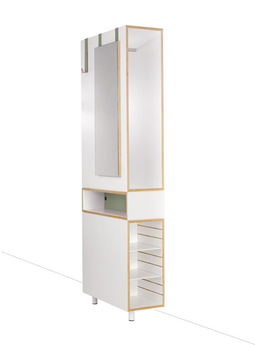 iidee Design+Interior Berlin: dressmate Garderobe / wardrobe