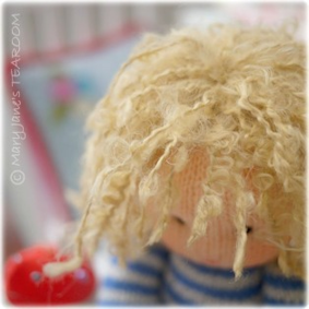 ♥ Little Oke Dolls...Hair Yarn....