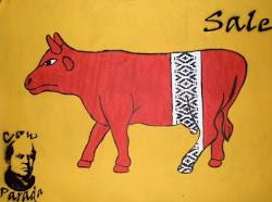 Cow parada Sarmiento