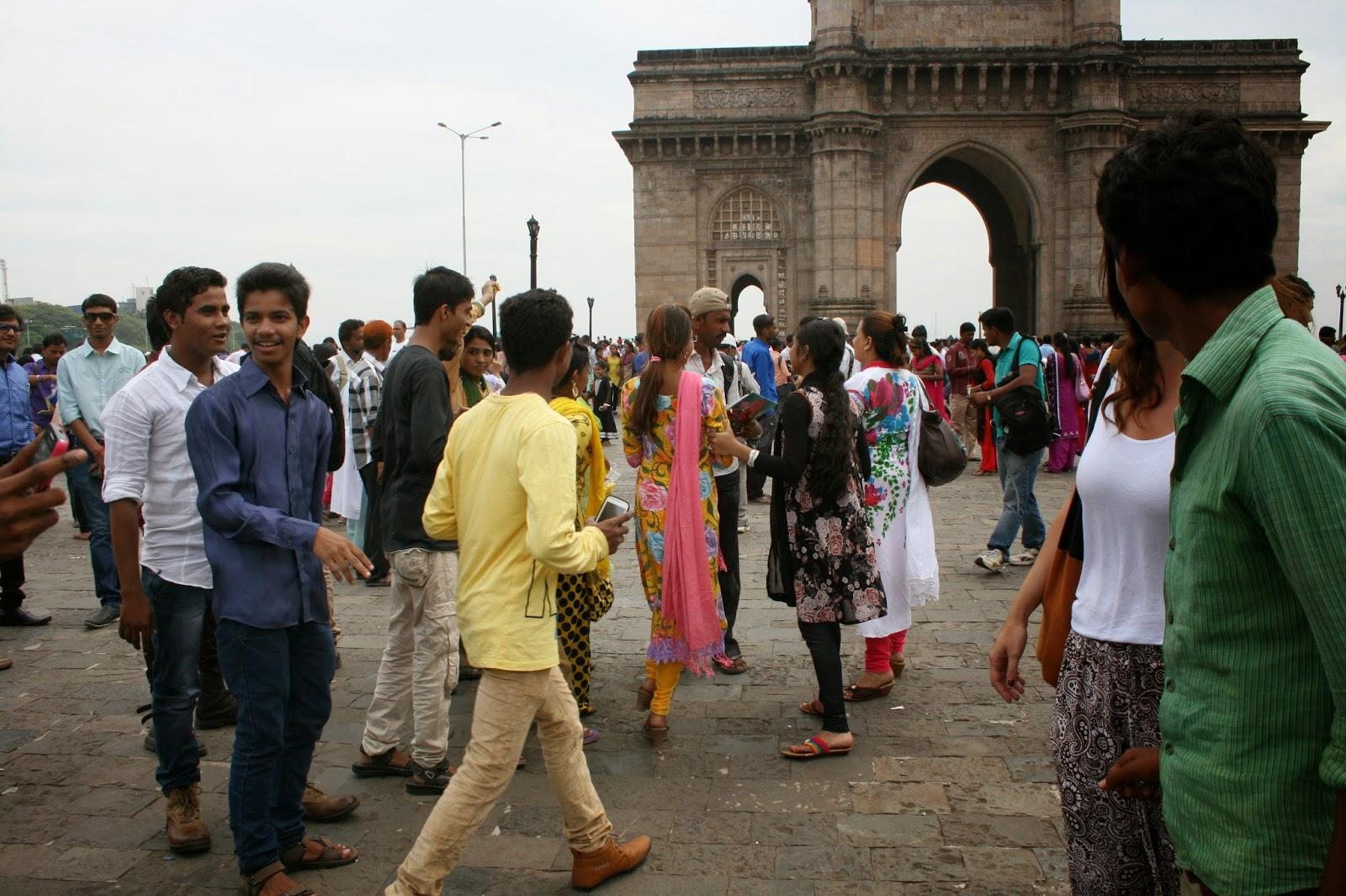Puerta de la India en Bombay. Gateway of India in Mumbai