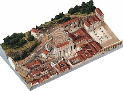 La ricostruzione della città di Butrinto (Albania)
