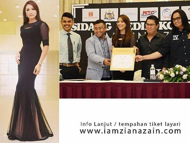 Konsert I Am Ziana Zain Batal Kerana Masalah Dalaman Penaja