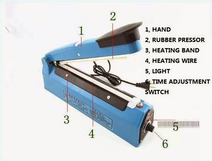 heat seal machine parts