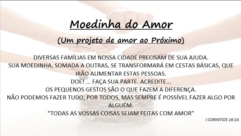 Projeto Moedinha do Amor