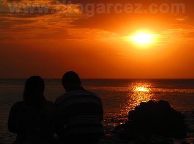 Final de tarde na baía de Todos os Santos, em Salvador