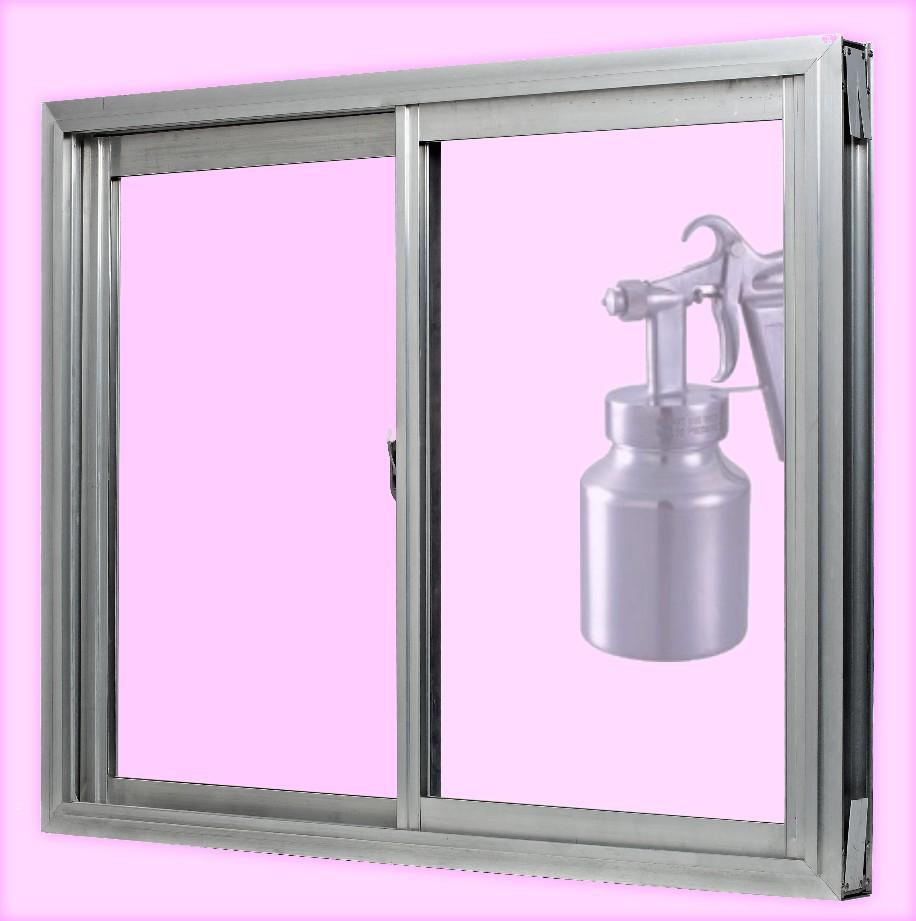 Pinta f cilmente las puertas ventanas o muebles de - Se puede pintar el aluminio ...