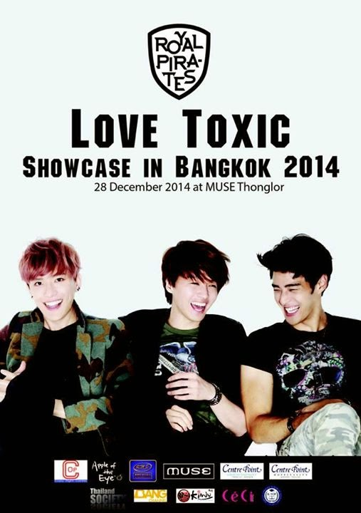 Royal Pirates invites Thai fans to attend their 'Love Toxic' showcase in Bangkok