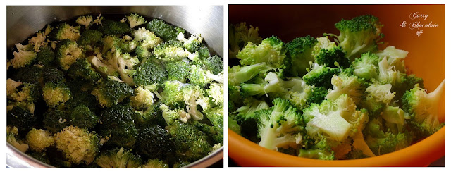 Cociendo el brócoli