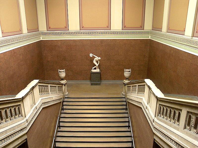 British Museum Foyer : This england spirit of london