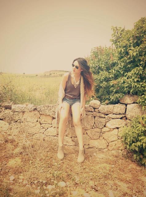 Fashoin Blogger look etnico