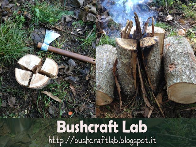 campeggio, bushcraft