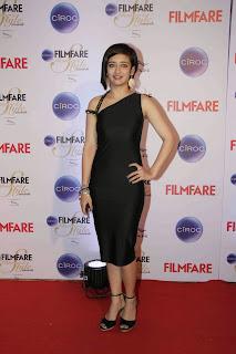 Actress Akshara Haasan Pictures in Black Dress at Ciroc Filmfare Glamour Style Awards  7