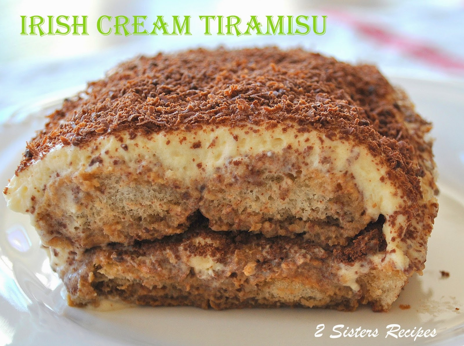 Irish Cream Tiramisu Recipe — Dishmaps