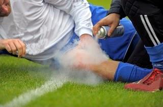 Les blessures de football communes