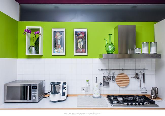 Una cucina luminosa ed elegante in Orchid MOOD | meetyourMOOD