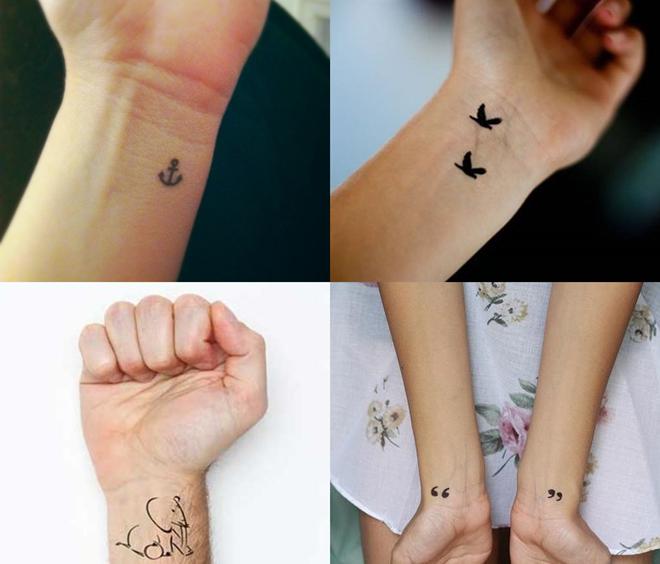 tatuagens no punho