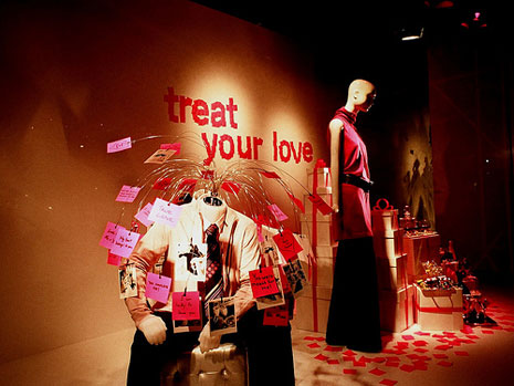 valentines day visual merchandising