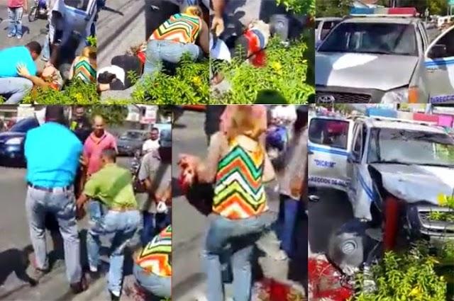 Video--muestra joven trágico accidente con policía como le desprendió pierna. troncha sueños convertirse lanzador Grandes Ligas