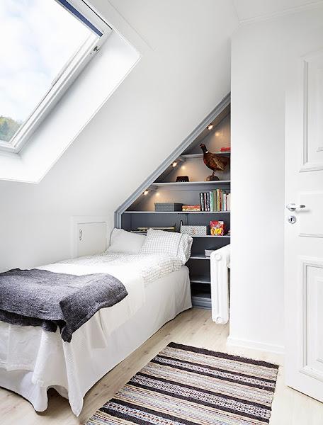 Cabecero molduras decorar tu casa es - Dormitorio juvenil pequeno ...