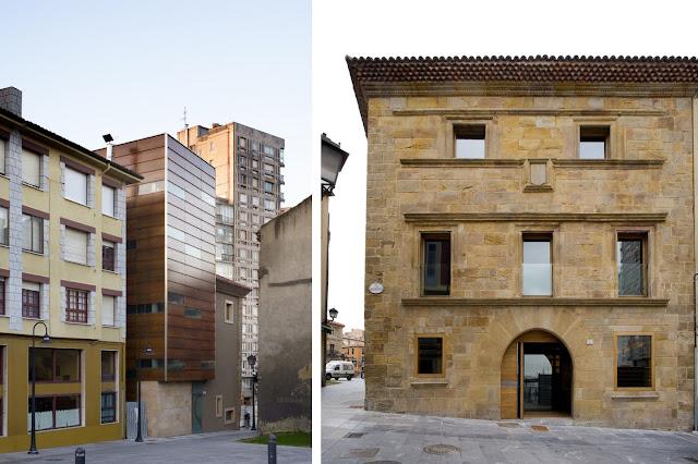 Colegio oficial de arquitectos de gij n espacios en madera - Arquitectos en gijon ...