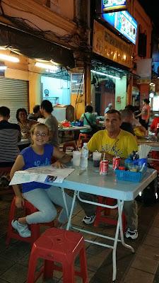 Comida callejera en Kuala Lumpur