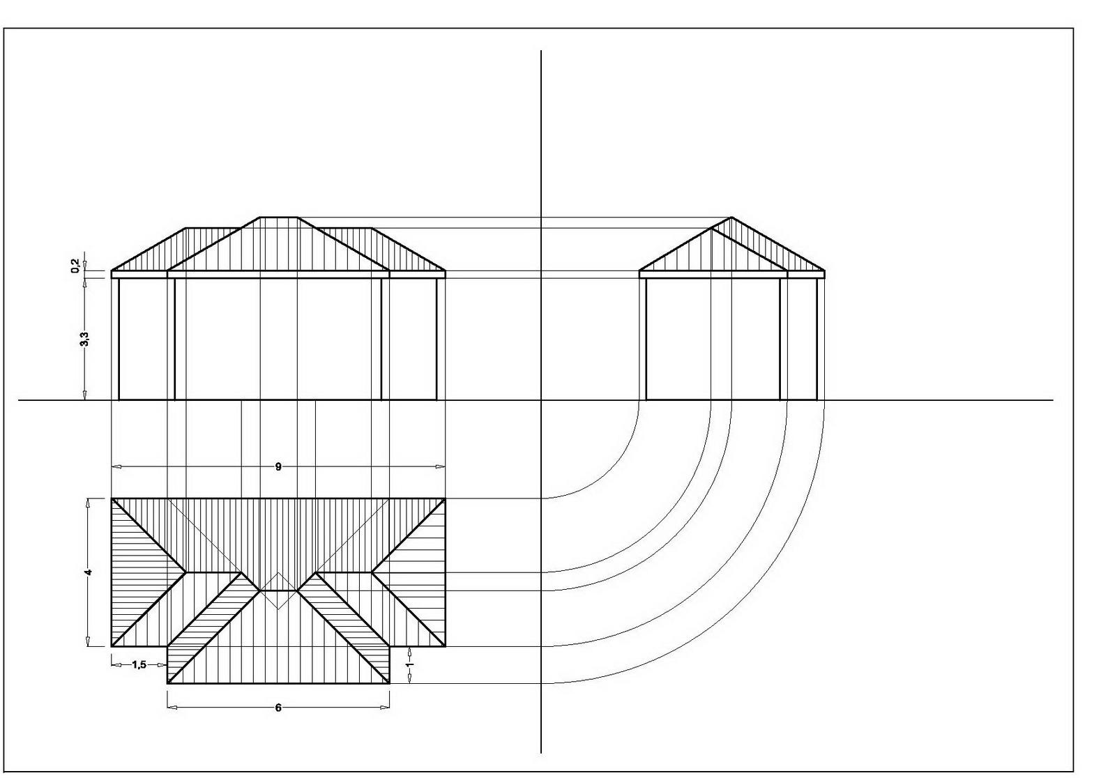 Artedis 2 classe seconda prof vincenzo esposito for Inquadratura del tetto del padiglione