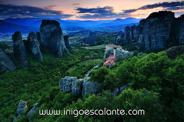 Diario de viaje Grecia 2013 Monasterios de Meteora en Kalambaka