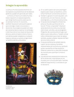 Integro lo aprendido - Educación Artística Bloque 5to 2014-2015