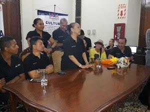 Visita de Yolanda Moreno en el Festival Fénix