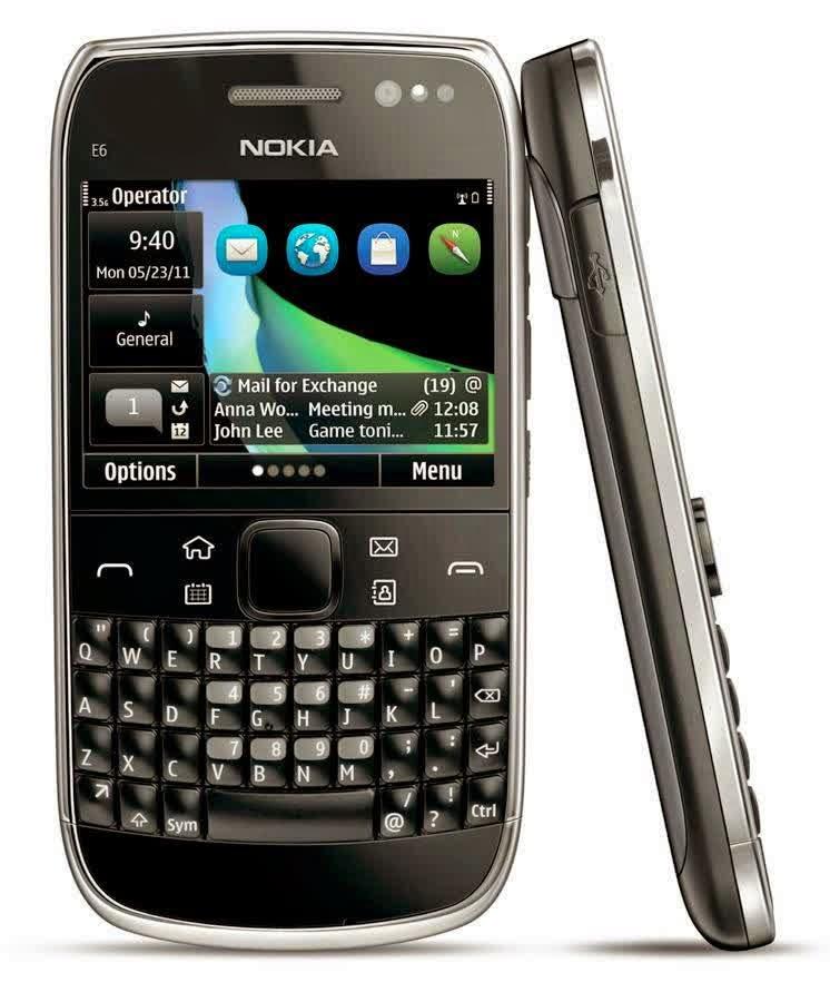 Harga Dan Spesifikasi Nokia E6 Terbaru 2014
