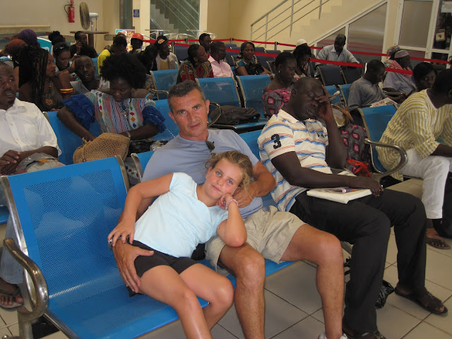 Embarcadero en Dakar (Senegal)