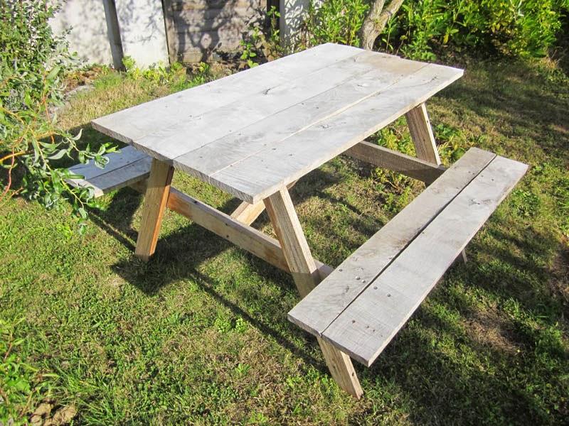 Bricolage p re fille table de jardin au 303 home deco for Table de jardin enfant