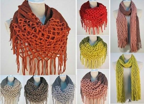 Cómo confeccionar Una bufanda diferente