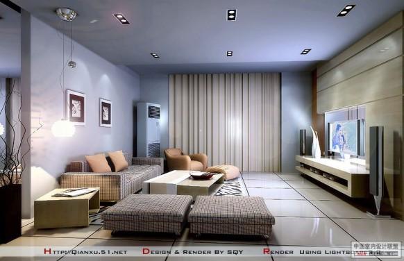 livingroom design desain ruang keluarga