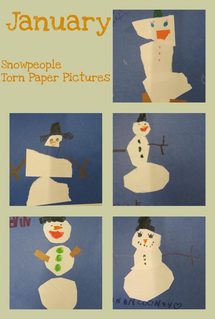 January Calendar Preschool : Kc kindergarten times art project calendar