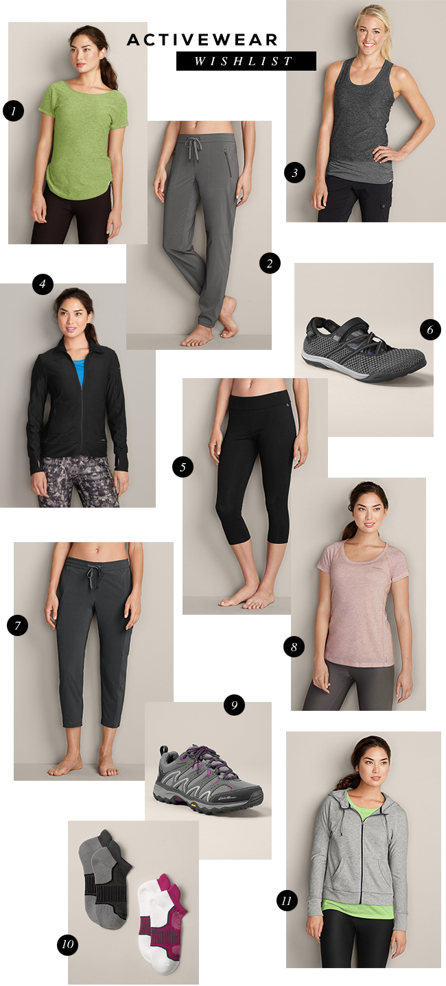 Stylish Activewear (via Bubby and Bean)