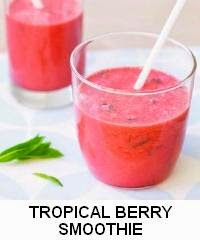 TROPICAL BERRY SMOOTHIE