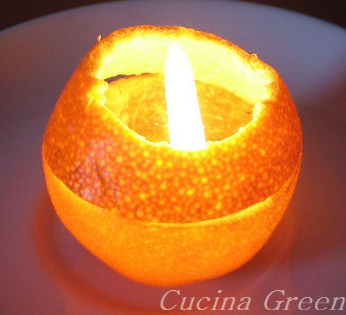 candele naturali fatte in casa