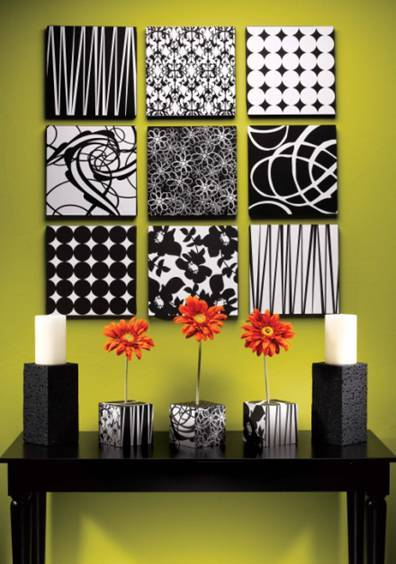 C.B.I.D. HOME DECOR and DESIGN: NO MORE BORING WALLS! UNPREDICTABLE...