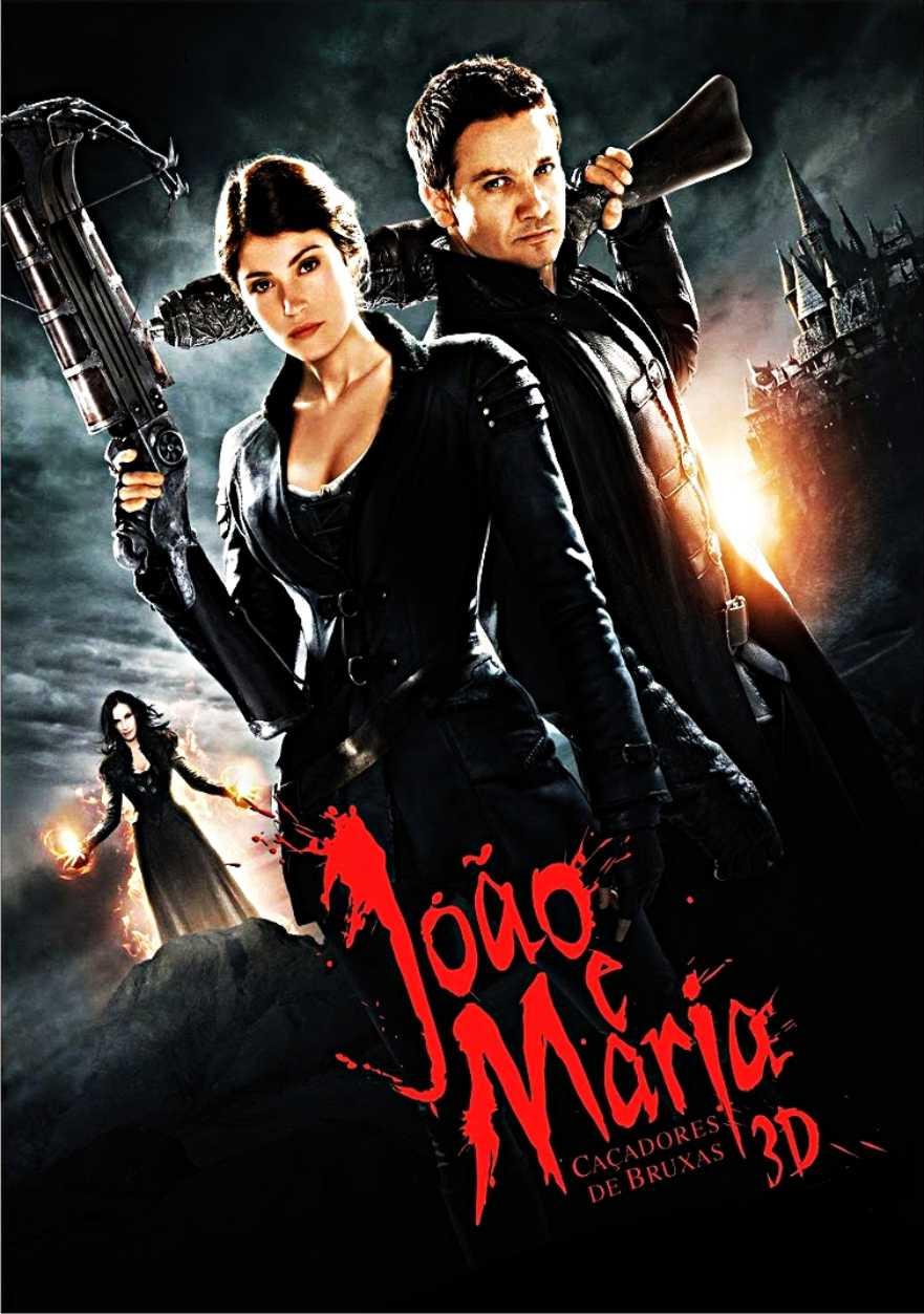 Capa - João e Maria Caçadores de Bruxas