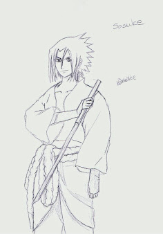 #12 Sasuke Manga Drawing