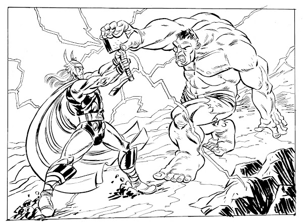 LEGO Marvel Avengers Coloring Pages