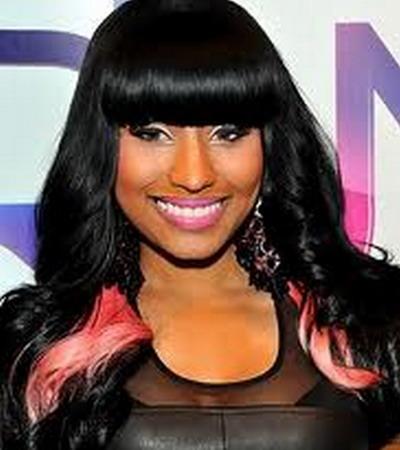 Nicki Minaj Black Curly Hairstyles 2013