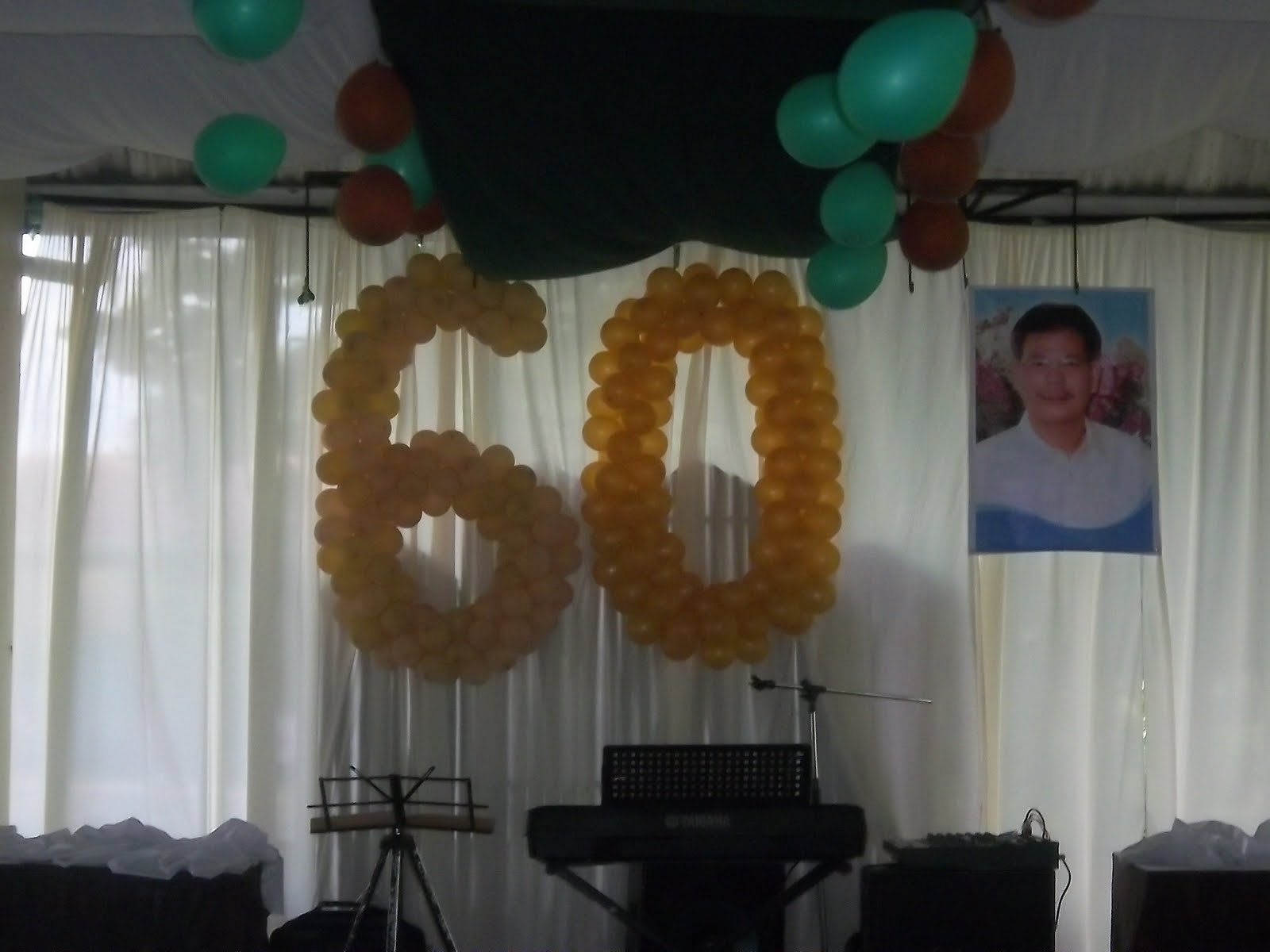 The Cherilyn Catering Company Balloons Set Up Number Birthday
