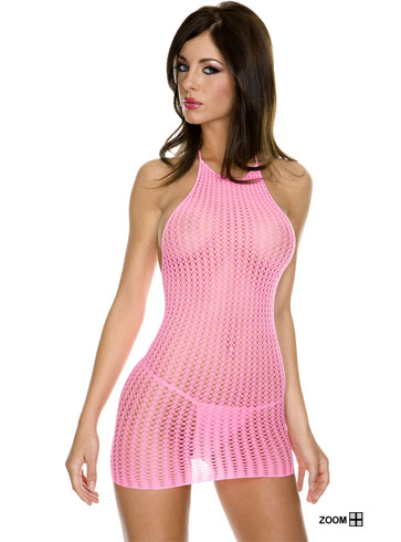 Tank Dress on The Crochet Dress Is A See Through Lingerie Style Dress That Would Be