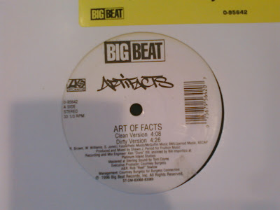 Artifacts – Art Of Facts (1996) (VLS) (320 kbps)