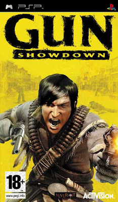 Free Download Gun Showdown PSP Game Cover Photo
