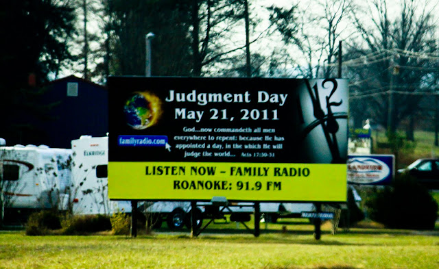 Judgment Day Rapture Billboard